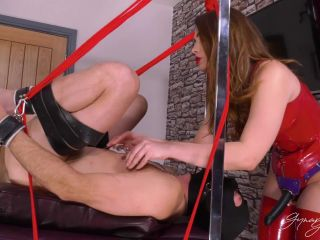 Gynarchy Goddess – Trussed, Spread and Fucked
