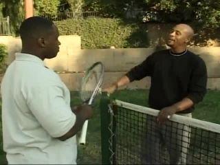 Nifty Tennis Court Fuck Scene Between Cinna Bunz