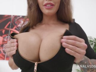 Balls Deep, Chloe Lamour, 1on1, BBC, Anal and No Pussy, ATM, Rough Sex, Gapes, Cum in Mouth, Swallow GL547