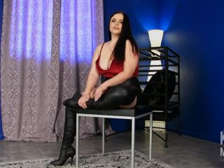 Miss Kelle Martina - Consume Your Cum - masturbation instruction on femdom porn