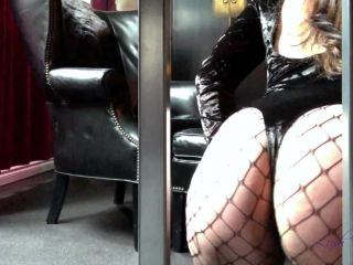 DemonGoddessJ – Caged Ass and Foot Worship Bondage POV