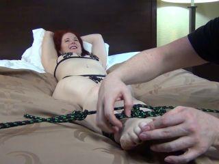 Tickling torture – Inner Sanctum Tickling – UK Wrestler Araneae Tied and Tickled, Part 2 Ticklish Soles