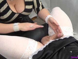 Closeup Sissy Milking — Handjob