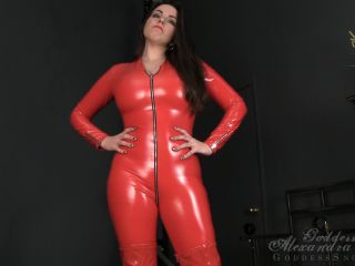 Shiny Clothing – Goddess Alexandra Snow – Earn Your Cum Slave Assignment