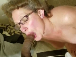 Ut0974 Granny Get A Big Juicy Load Of Black Cum In Her Mouth