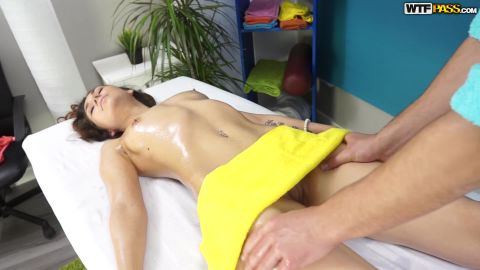 Stacy Snake - Massage, Oiled Pussy, Sex