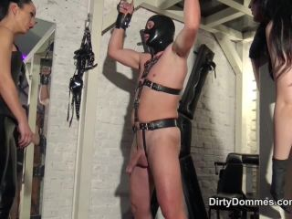 Fetish Liza – Dirty Dommes – Ballbusting competition part 2 – Lady BlackDiamoond