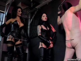Femdom – Mistress Tangent – Stick It Out – Mistress Cybill Troy and Mistress Tangent