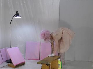 sensual pain: mar 6, 2019: anal painting 2   abigail dupree