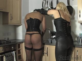 Porn online Feminine Discipline – FemmeFataleFilms – Kitchen Caning – Complete Film – Mistress Akella