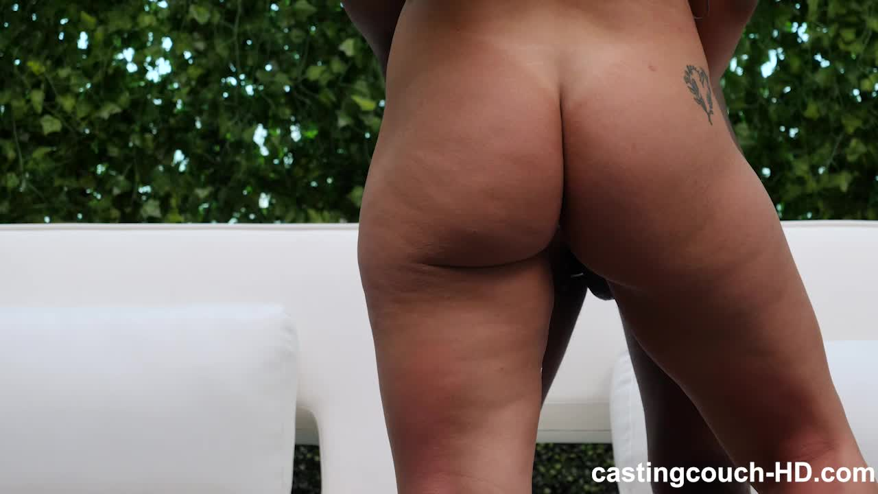 Ebony Big Ass Fucked The Couch