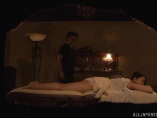 Awesome Luscious milf enjoys a wild massage session  Video Online Japanese AV Model 720