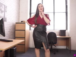 femdom - Wankitnow presents Elouise Please in The office slut