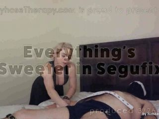 mature femdom strapon fetish porn | Pantyhose Therapy – Christina QCCP – Everything's Sweeter In Segufix | bdsm