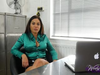 Worship Goddess Jasmine – Office Takeover – Blackmail, Brainwash | mental domination | fetish porn brianna femdom