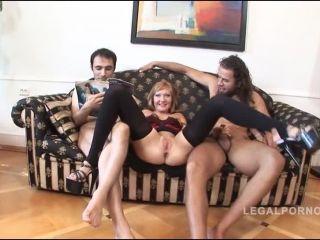 Porn tube Online Video Roxana – (LegalPorno) – MILF slut assfucked & DP'ed NR099 double penetration