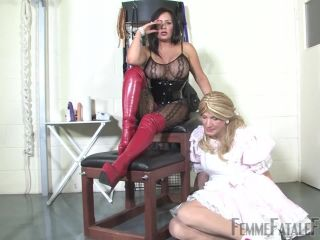 Boots – Femme Fatale Films – Your Dirty Little Secret – Part 1-2 – Mistress R'eal