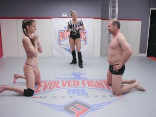 Evolved Fights – Slender Bossy Female Athlete gets destroyed by her employee