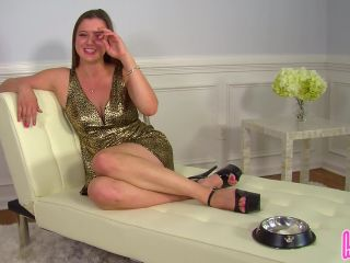 Humiliatrix Princess Becky Trains You to Swallow Cum on Command