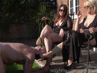 Goddess Gynarchy –  Goddess Serena, Mistress Tess – Worship Our Heels (1080 HD) – Heels Sucking, Female Domination
