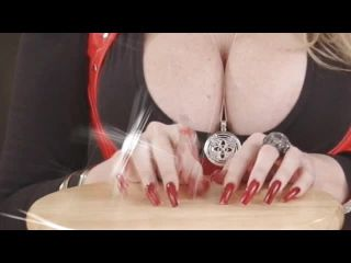 Mistress Candice - Nails, Nips, and Orgasm