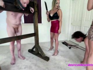 The Mean Girls – Goddess Draya, Princess Amber – Stockade Beatdown (1080 HD)