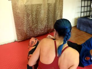 Czech Soles – Blue Kate – Mixed wrestling foot domination