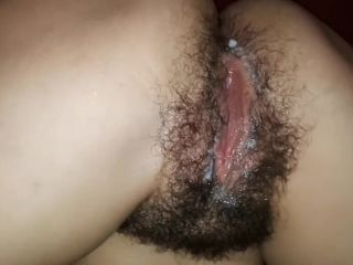 My Hairy Winterpussy Creampie from PaulRoyal collection