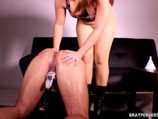 Brat Perversions presents Miss Brat in Cuckold Breeding Humiliation