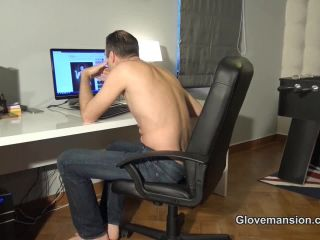 Tina Kay Silenced by her leather gloves