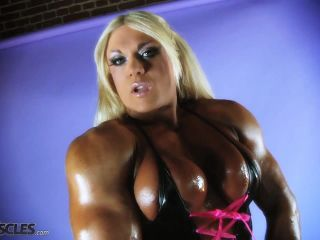 Lisa Cross Showing her Hard Firm Tits