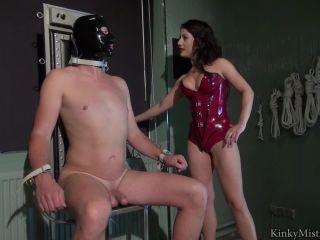 Breastfree Latex – KinkyMistresses – Ella Kros – Electro Fun – Complete Film