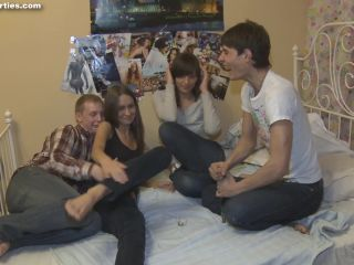Group 5910-Loud moans and splashes of champange and cum