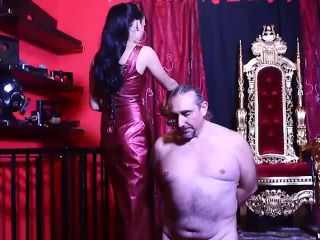 mistress iside  powerful slaps  mistress iside