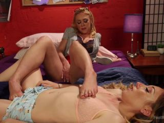 Foot obsessed stepmom MILF gets fucked by step daughter! - Kink  March 14, 2014