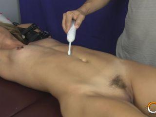 Tickle torture - Jenny Jett Stripped Tickled TUMMY (MP4)