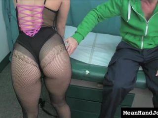 seduced by macys ass  mean hand jobs  orgasm