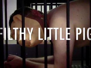Slap – Strafkamer – MISTRESS BATON's Filthy Little Chastity Pig