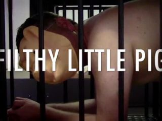 Strafkamer  MISTRESS BATON's Filthy Little Chastity Pig