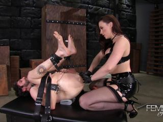 Chanel Preston – VICIOUS FEMDOM EMPIRE – Stretched & Ass Locked – Mistress Chanel