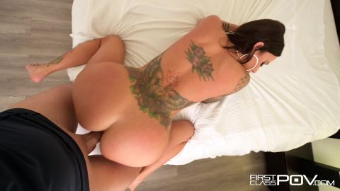 Gia Dimarco - Tattooed Babe Gia DiMarco Filled With Cum [FullHD 1080P]