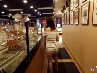 Skinny Cute Teen Ends Up With Nice Facial POV...