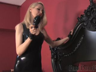 Femme Fatale Films – Mistress Eleise de Lacy – Extreme Anal – Complete Film – Female Domination – Dildo, Chastity Device