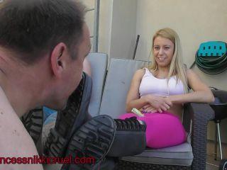 Dirty boots – Princess Nikki Cruel – Nikki and mini dirty shoes