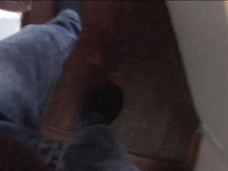 Son caught hot step mom masturbating on spy cam under table