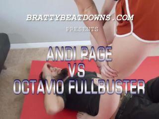 Bratty Beatdowns – Andi Page – Andi Page KO's Octavio