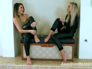 Shiny – The Mean Girls – Facesitting – The Best Way To Go – Princess Skylar and Goddess Platinum