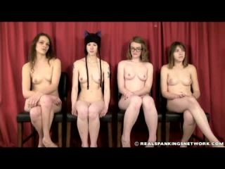 Four Naked Girls Spanked (Part 1 of 4)