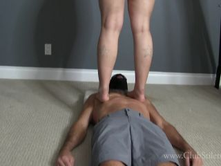 ClubStiletto – Goddess Amelia – Feet and Ass for Trampled slave