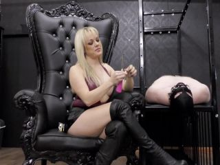 Mistress Tess — Gagged Ashtray (1080 HD) — Human Ashtray — Femdom
